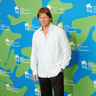 Sean Bean in 64th Venice Film Festival - Day 2, 'Far North' Photocall
