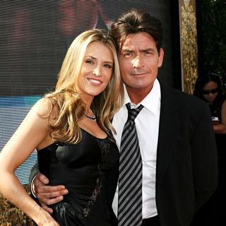 Charlie Sheen - The 59th Primetime Emmy Awards