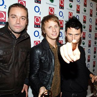 Muse in The Q Awards - Press Room