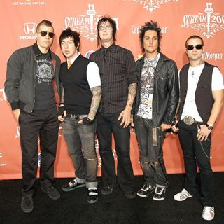Avenged Sevenfold in Spike TV Presents The Second Annual 'Scream 2007' - Arrivals - wenn1628237