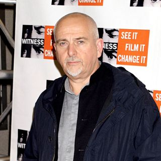 Peter Gabriel in Witness Focus for Change: 15th Anniversary Benefit Dinner and Concert - wenn1653775