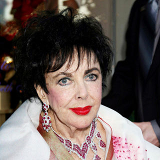 Elizabeth Taylor Unveils House of Taylor Jewelry Collection