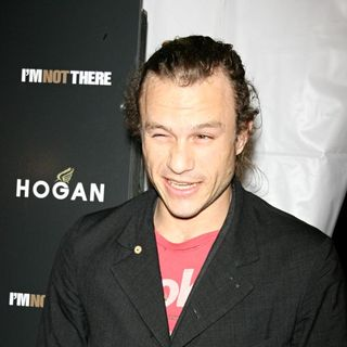 Heath Ledger in Premiere of 'I'm Not There' - wenn1661661