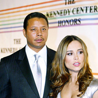 Terrence Howard, Zulay Henao in The 30th Annual Kennedy Center Honors gala