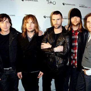 Maroon 5 in 2008 Sundance Film Festival, Day 2, MySpace Nights - Arrivals