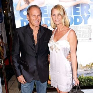 Michael Bolton, Nicollette Sheridan in Los Angeles Film Premiere of 'Over Her Dead Body' - Arrivals