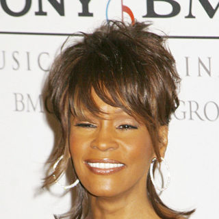 Whitney Houston in Clive Davis Pre-GRAMMY Party 2008 - Arrivals