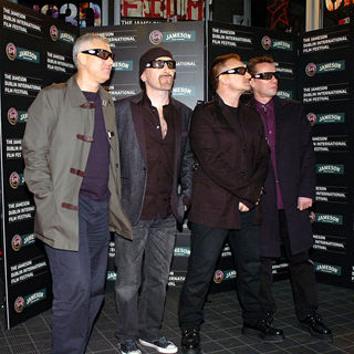 U2 in The Premiere of 'U2 3D'