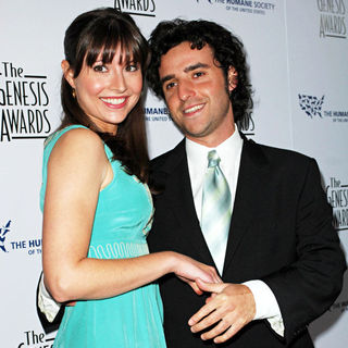 Vanessa Britting, David Krumholtz in The 22nd Annual Genesis Awards