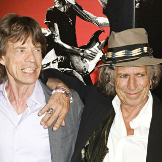 Mick Jagger, Keith Richards in Photo Call for New York Premiere of 'Shine A Light'