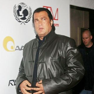 Steven Seagal in The Arrivals for The will.i.am Music and RBK Group Presents a Tsunami Benefit Concert