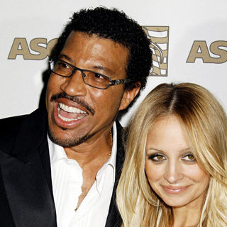 Lionel Richie, Nicole Richie in 2008 ASCAP Pop Awards
