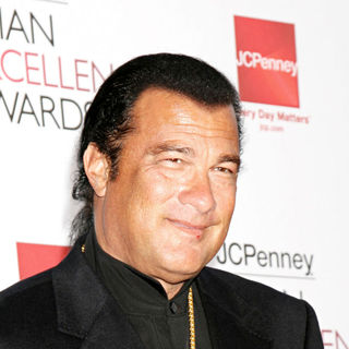 Steven Seagal in The 2008 JC Penny Asian Excellence Awards