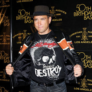 Vinnie Jones in Christian Audigier 50th birthday party - arrivals