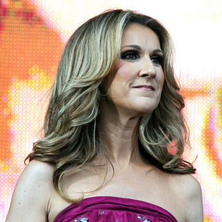 Celine Dion in Celine Dion Performs at Croke park