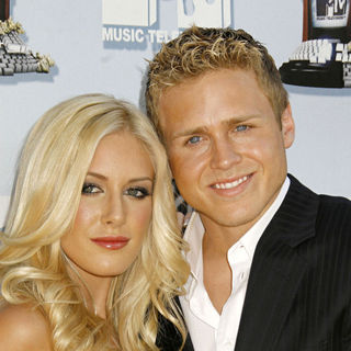 Heidi Montag, Spencer Pratt in 2008 MTV Movie Awards
