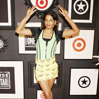 M.I.A. in The Target and Converse One Star Collection Movie Awards After Party