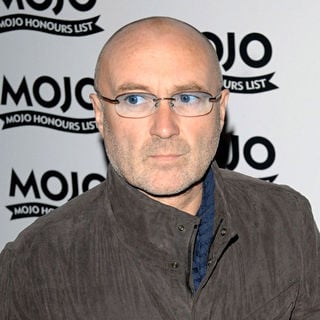 Phil Collins in Mojo Honours List - Press Room