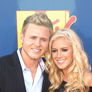 Spencer Pratt, Heidi Montag in 2008 MTV Video Music Awards - Arrivals