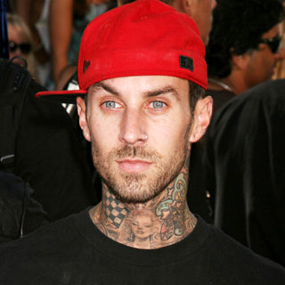 Travis Barker in 2008 MTV Video Music Awards - Arrivals