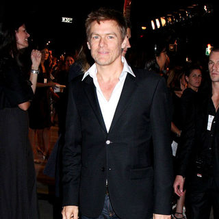 Bryan Adams in Mercedes-Benz Fashion Week Spring 2009 - Calvin Klein, Inc. 40th Anniversary - Outside Arrivals