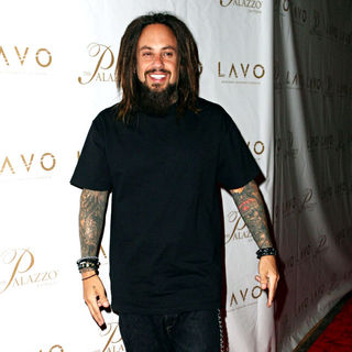 Reginald Arvizu, Korn in Grand opening of Lavo Restaurant and Nightclub - arrivals