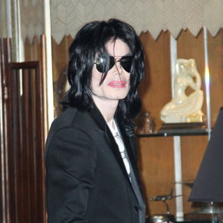 Michael Jackson in Michael Jackson shops in an antique shops in Beverley Hills