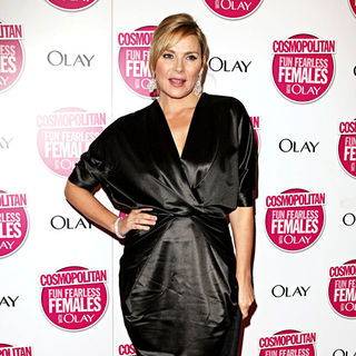 Kim Cattrall in Cosmopolitan Ultimate Women of The Year Awards - Arrivals