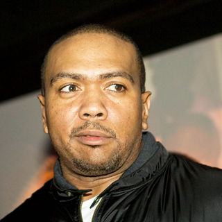Timbaland in Akon Celebrates The Release of His 3rd Album 'Freedom'