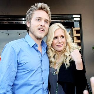 Spencer Pratt, Heidi Montag in Heidi Montag and Spencer Pratt Seen in A Very Playful Mood as They Go Christmas Shopping