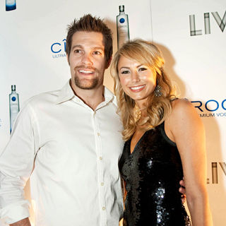 Geoff Stults, Stacy Keibler in The New Years Eve Celebration