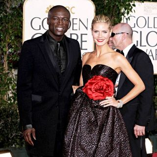 Seal, Heidi Klum in 66th Annual Golden Globe Awards - Red Carpet