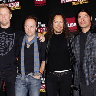 Metallica in Rock and Roll Hall of Fame Announce The 2009 Inductees - wenn2245789