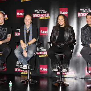 Metallica in Rock and Roll Hall of Fame Announce The 2009 Inductees - wenn2245791