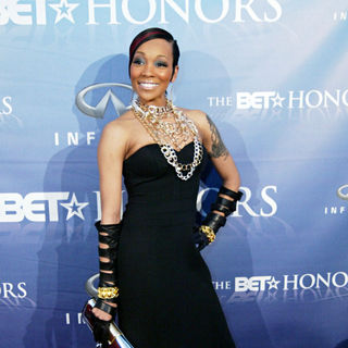 Monica in The BET Honors Second Annual Black Entertainment Awards - Arrivals