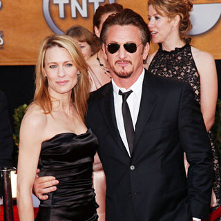 Robin Wright Penn, Sean Penn in 15th Annual Screen Actors Guild Awards - Arrivals