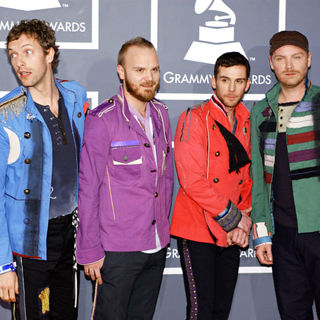 Coldplay in 51st Annual Grammy Awards - Red carpet arrivals