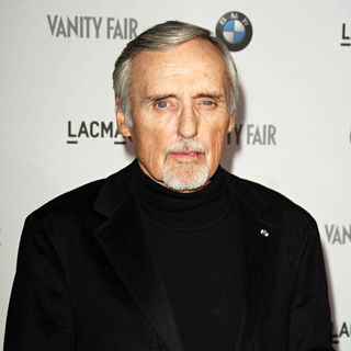 Dennis Hopper in Vanity Fair Hosts BMW Art Car Installation Launch Party - Arrivals