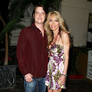 Jeremy London, Melissa Cunningham in The 7th Annual World Poker Tour Invitational - Arrivals