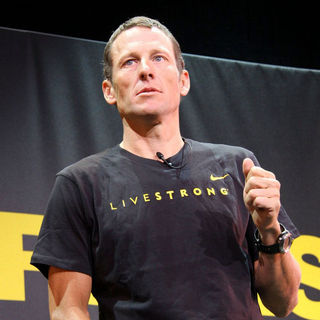 Lance Armstrong in Lance Armstrong and Nike Sportswear Launch 'Stages'