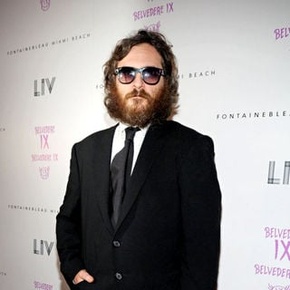 Joaquin Phoenix in Joaquin Phoenix  arrives at LIV Nightclub