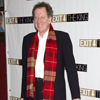 "Geoffrey Rush in Opening Night After Party for The Broadway Play ""Exit The King"" - Press Room"