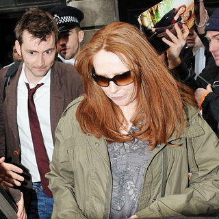 David Tennant and Catherine Tate Leaving Radio Two - wenn2366946