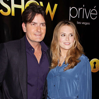 Charlie Sheen, Brooke Mueller in The world premiere of 'Peepshow' - Arrivals
