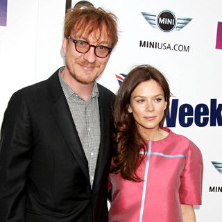 David Thewlis, Anna Friel in Champagne Launch of BritWeek 2009