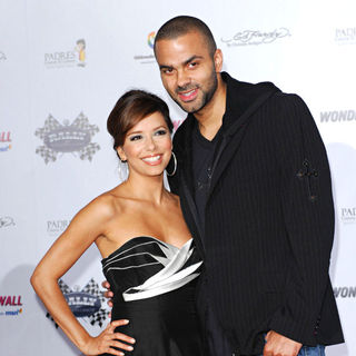 Eva Longoria, Tony Parker in Rally For Kids with Cancer Kick Off Cocktail Party