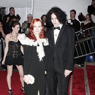 Karen Elson, Jack White in 'The Model As Muse: Embodying Fashion' Costume Institute Gala - Arrivals