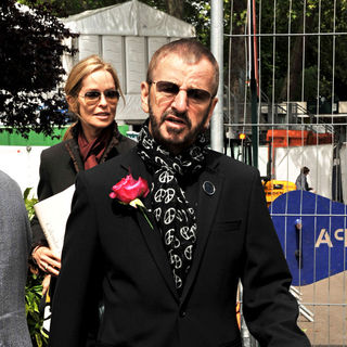 Ringo Starr in Chelsea Flower Show - press & VIP preview day