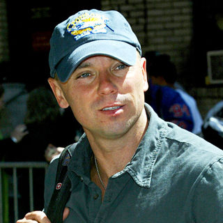 Kenny Chesney in Kenny Chesney outside the Ed Sullivan Theatre for the 'Late Show With David Letterman'