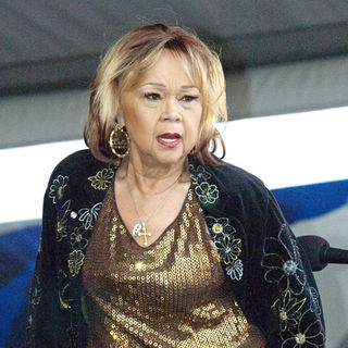 Etta James in Etta James performs at the New Orleans Jazz & Heritage Festival